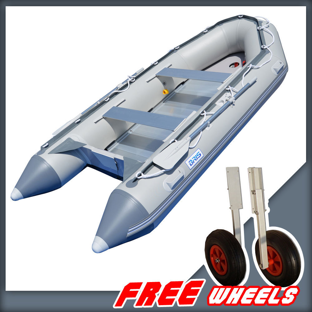 BRIS 14.1ft Inflatable Boat Rescue & Dive Inflatable Power Boat Raft