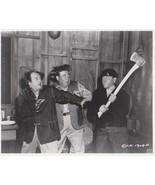 3 Stooges Ax Moe Larry Joe 171 Vintage 8X10 BW TV Memorabilia Photo - $4.99