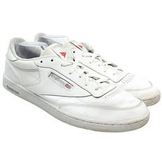 Reebok Classic Club C 85 White Sheer Gray AR0455 Mens Casual Shoes Size 15 - $22.72