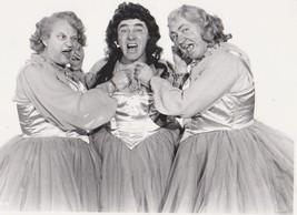 3 Stooges Dresses Moe Larry Curly 121 Vintage 8X10 BW TV Memorabilia Photo - $4.99