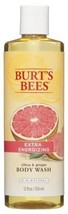 Burt's Bees Extra Energizing Citrus and Ginger Body Wash - 12 Ounce Bottle - $21.44