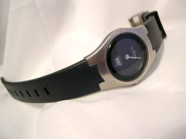 "L74, Skagen Denmark, Petite Ladies Silver Tone Watch, 7.5"" Silicon Band,... - $115.43"