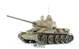T34/85 Soviet Medium Tank upgraded AFV workable track WW2 1:35 Pro Built... - $282.15