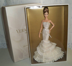 Vera Wang Bride Barbie Doll  The Romanticist Gold Label NRFB   - $325.00