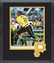 Gregory Polanco 2016 Pittsburgh Pirates - 11 x 14 Team Logo Matted/Framed Photo - $42.95