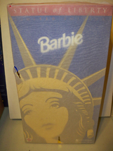 Statue of Liberty Barbie Doll NRFB Limited Edition NRFB FAO SCHWARZ - $49.99