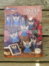 Plastic Canvas Booklet Angels Pattern the Needlecraft Shop ornament stocking - $8.95