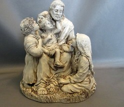 Statue Jesus with Little Children ~Abbey Press~Resin - $8.99