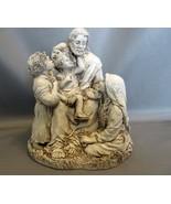 Statue Jesus with Little Children ~Abbey Press~Resin - $8.99