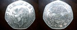 1980 Mexican 10 Peso World Coin - Mexico - Costilla - $1.99