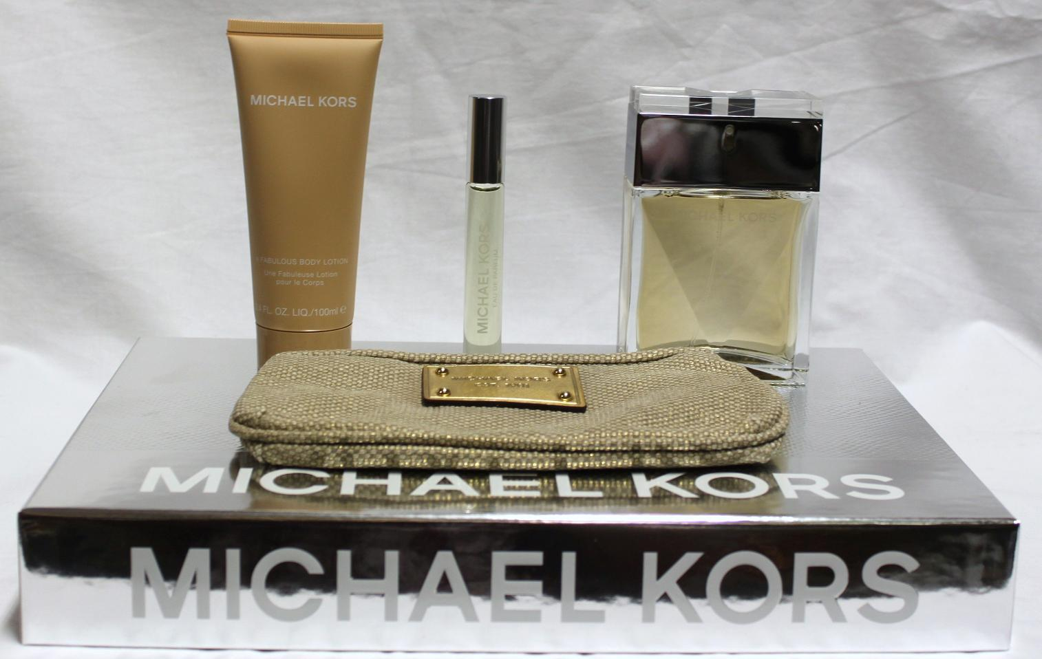 MICHAEL KORS BY MICHAEL KORS 4PCS SET FOR WOMAN 3.4 FL.OZ / 100 ML EAU DE PARFUM