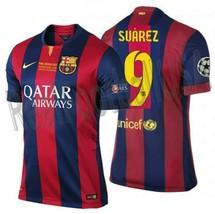 NIKE L. SUAREZ FC BARCELONA FINAL UEFA CHAMPIONS LEAGUE BERLIN 2015 MATC... - $450.00