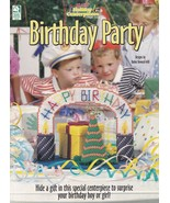 Birthday Party, Plastic Canvas Pattern Booklet House of White Birches 18... - $2.95