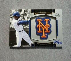 2003 Sweet Spot Classics Patch Cards #GF1 George Foster Mets SN 184/350 - $2.48