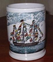 SHIP MOTIF STEIN ON SALE - $15.99