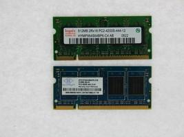 50 job lot 512MB 512 pc2-4200 4200 laptop sodimm memory ram 200 pin module stick