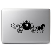 "Cinderella Carriage Disney for Macbook Air/Pro 11 13 15"" Vinyl Decal Sticker - $10.34"