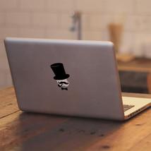 """Gentleman Mustache Bow Tie Pipe for Macbook 11"""" 13"""" 15"""" 17"""" Vinyl Decal Sticker - $4.52"""