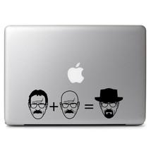 Heisenberg Equation Breaking Bad for Macbook Air/Pro Laptop Vinyl Decal Sticker - $8.97