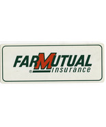Farmutual Insurance Agriculture Farming Decal Sticker NOS - $8.42