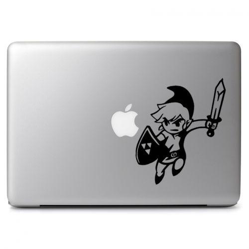 Legend of Zelda Jumping Toon Link Vinyl Car Window Laptop Decal Sticker
