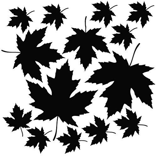 iPad Vinyl Decal Sticker for Wall iPhone Car Maple Leaf Fall Laptop