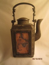 RARE ASIAN ANTIQUE JAPANESE CAST IRON TEAPOT/ TEA KETTLE - $450.00