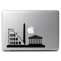 Rome Skyline for Macbook Air Pro Laptop Car Window Bumper Vinyl Decal Sticker - $8.38