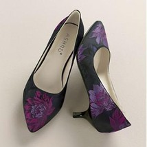 Women's Church Cocktail Party Evening Wedding Fabric Taylor Shoe Size 9.... - $59.39