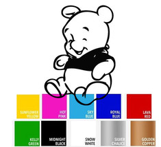 Winnie The Pooh Baby Decal Sticker for Macbook Laptop iPad Trackpad Car ... - $4.95+