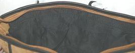 Amanda Blu Brand 85055 Pippa Brown and Black Color Womens Zippered Purse image 5