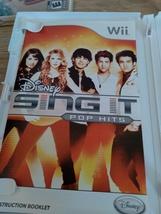 Nintendo Wii Disney Sing It: Pop Hits ~ COMPLETE image 2