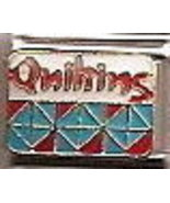 QUILTING Italian Charm Link 9 MM - $9.95