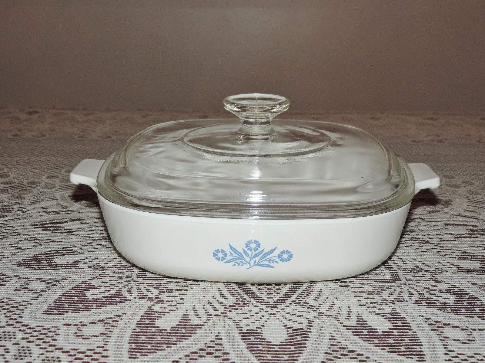 Corning Ware Cornflower Blue 9