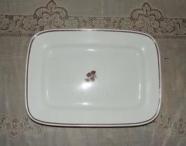 """13"""" Rectangular Tea Leaf Serving Platter by Wed... - $8.00"""