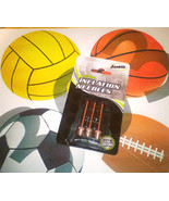3pk Franklin Sports INFLATING NEEDLES for Volleyball Basketball Soccer B... - $4.99