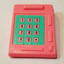 1987 Barbie Ice Cream Shoppe replacement cash register machine Mattel - $4.94