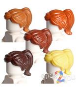 Lego Set/5 Maria Hill Hair Female Ponytail and Swept Sideways Fringe 87990 - £1.21 GBP+