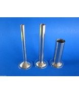 (3) Stuffing Tubes for CHEFS CHOICE meat grinder attachment on Kitchenai... - $38.36