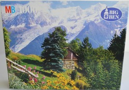 1995 Milton Bradley Big Ben ~ Mt. Blanc France ~ 1000 pc Puzzle ~ New Sealed - $31.95