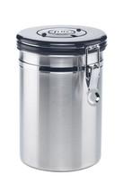 16-Ounce Coffee Storage Jar Vault, Stainless Steel - $37.39