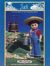 Jack, Fibre Craft 13 inch Male Doll Clothes Crochet Pattern Booklet FCM186 - $3.95