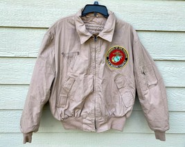 USMC 100% ARAMID FIRE RESISTANT COLD WEATHER FLYERS JACKET - X-LARGE REG... - $84.15