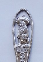 Collector Souvenir Spoon Mexico South of the Border Cutaway Handle - $6.99