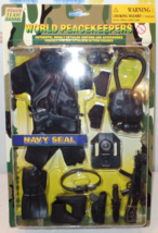 """12"""" Action Figure  Military Gear Accessory Pack World Peacekeepers NAVY ... - $32.99"""