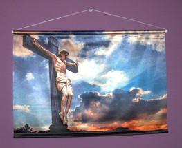 Jesus Christ Decorative Digital Print Wall Hang 27 x 18.5""