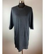 Fabletics Womens Sweater XL Gray 3/4 Sleeve - $98.99