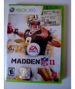Madden NFL 11 (Microsoft Xbox 360, 2010) - $5.83