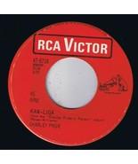 Charley Pride Kaw-Liga 45 rpm The Little Folks Canadian Pressing - $4.74