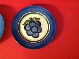 4 Stangl Pottery GRAPE Salad Plates Dinnerware - $24.99
